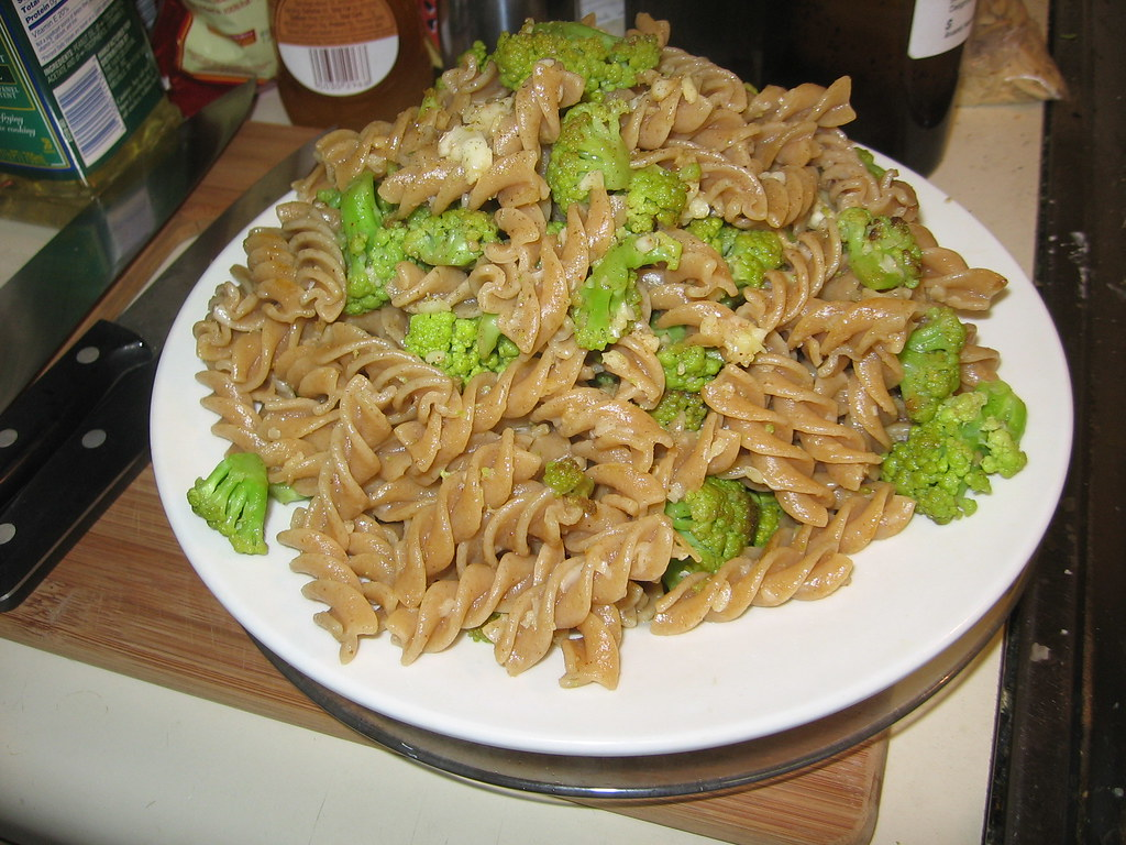 Heaven and hell cauliflower pasta | IE, this recipe, with ad ...