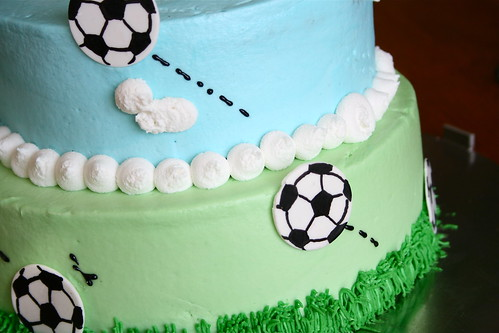 Soccer Ball Cake | by Hungry Housewife