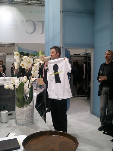 Free Creo 'Unlock Potential' T-Shirts at PTC, HMI | by creophotos