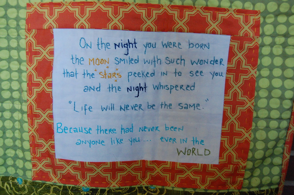 Quilt Label Sayings For Baby Quilts