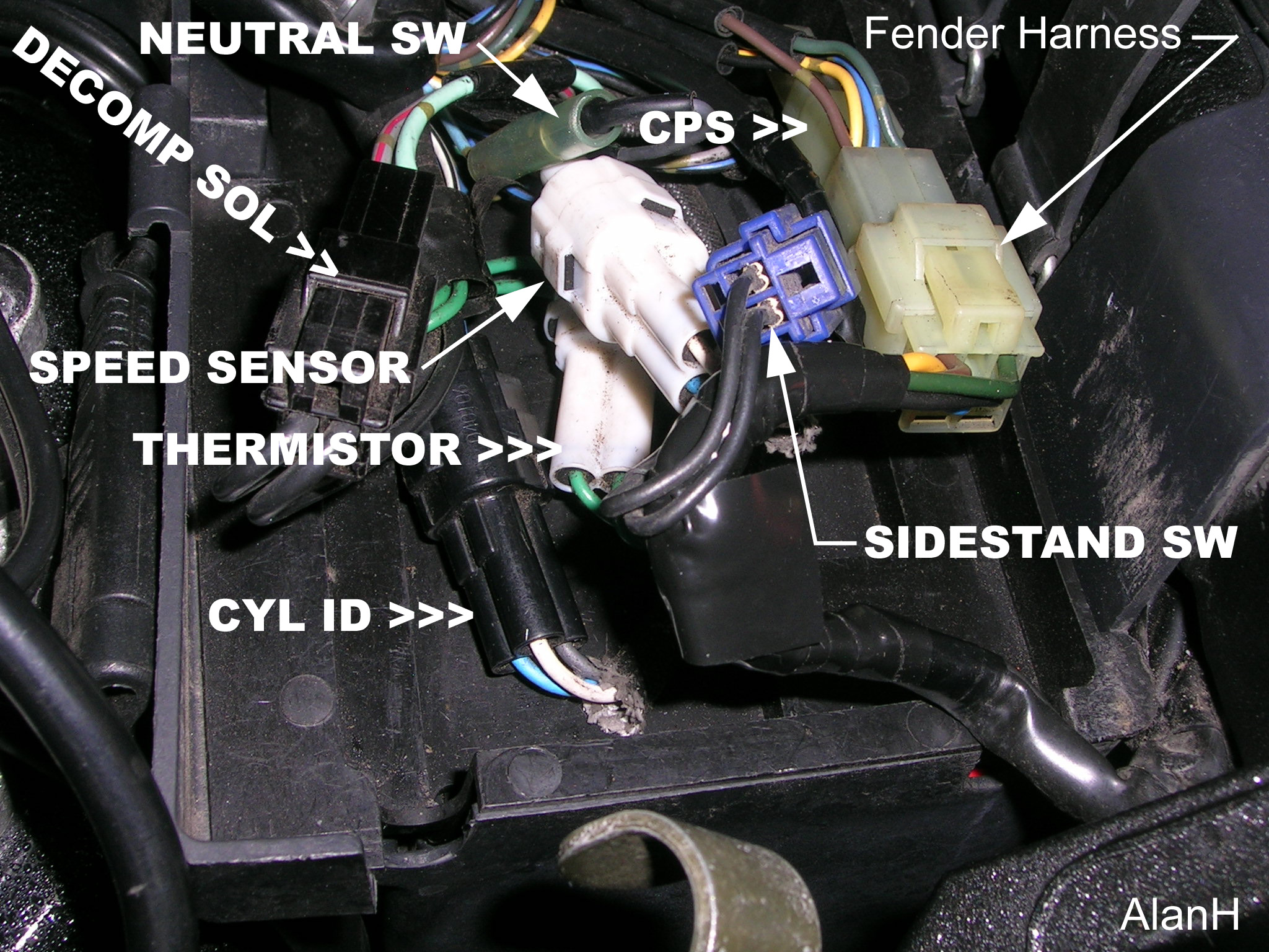 Side Stand Kill Switch Not Functioning Road Star Warrior Forum Yamaha Mt 01 Wiring Diagram If The Engine Doesnt Cut Out Report Back Here For Further Instructions
