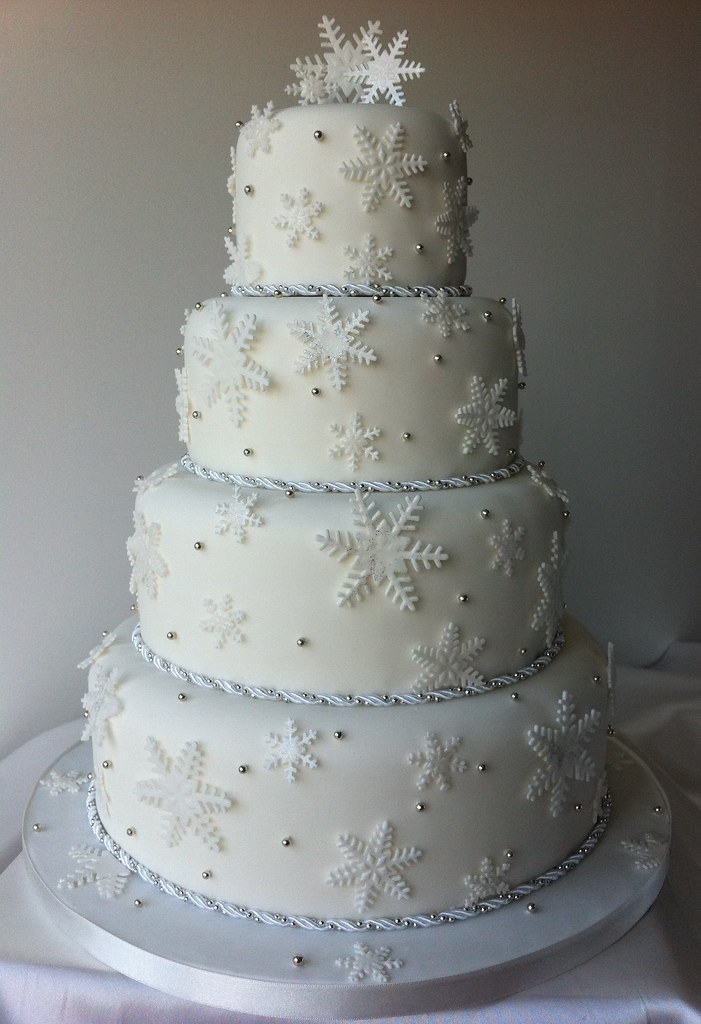 Tier Wedding Cake For