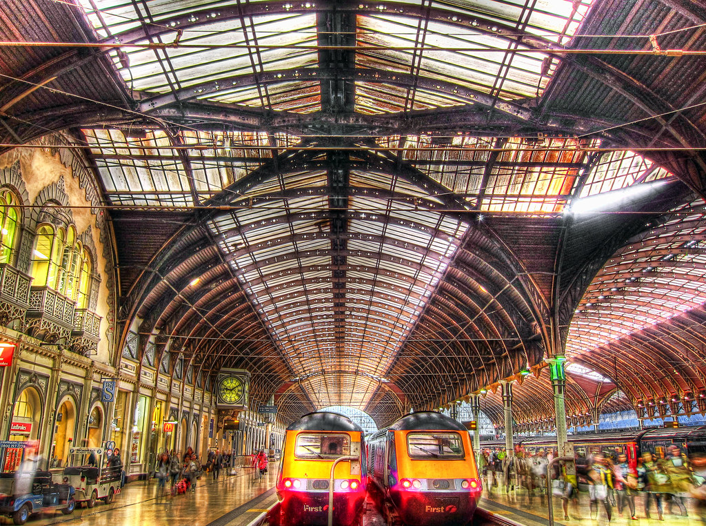 Londons Paddington Train Station in HDR The site is an hi Flickr