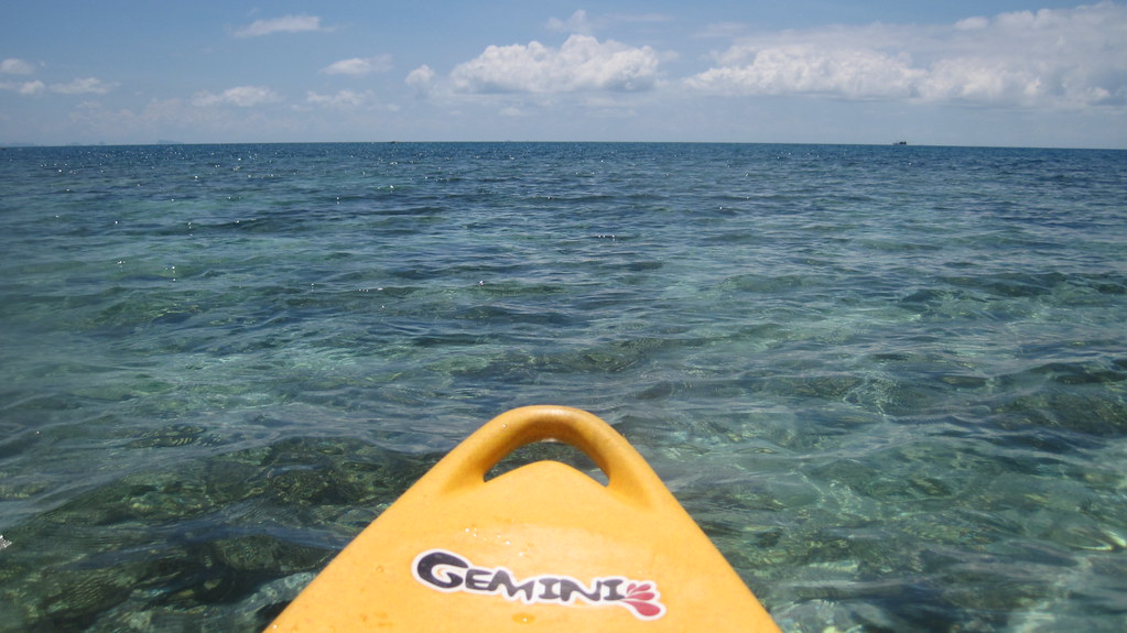 koh Phangan Kayak at Salad Beach パンガン島カヤックで (9)  soma ...