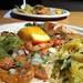 pork taco & papaya salad | Cartel Taco