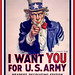 Uncle Sam I Want You - Poster Cleaned