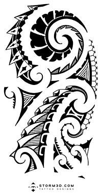 high resolution maori shoulder tattoos storm3d designs flickr. Black Bedroom Furniture Sets. Home Design Ideas