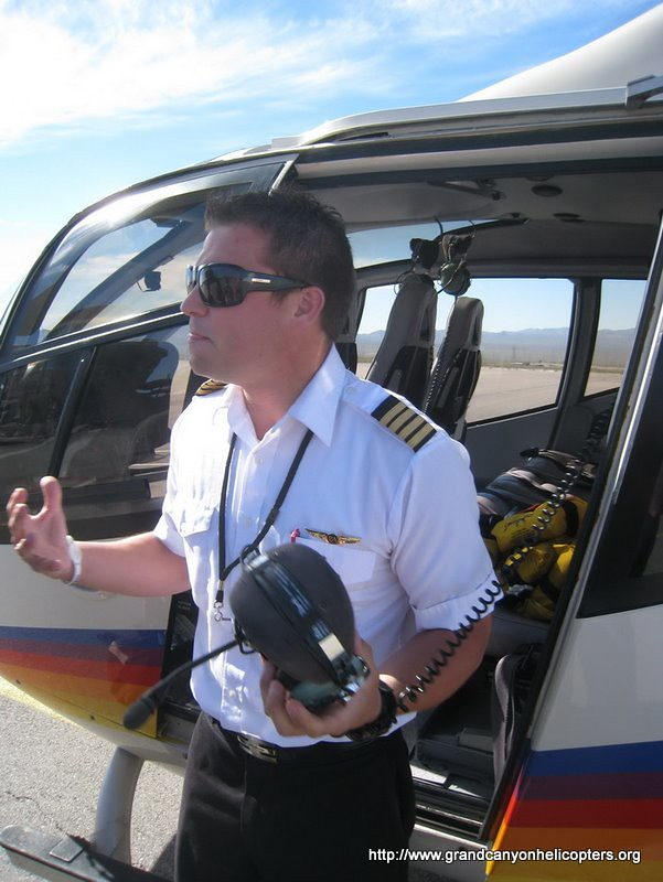 Papillon Helicopter Pilot During Grand Canyon Safety Brief  Flickr