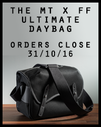 The ultimate photographers' daybag - order here