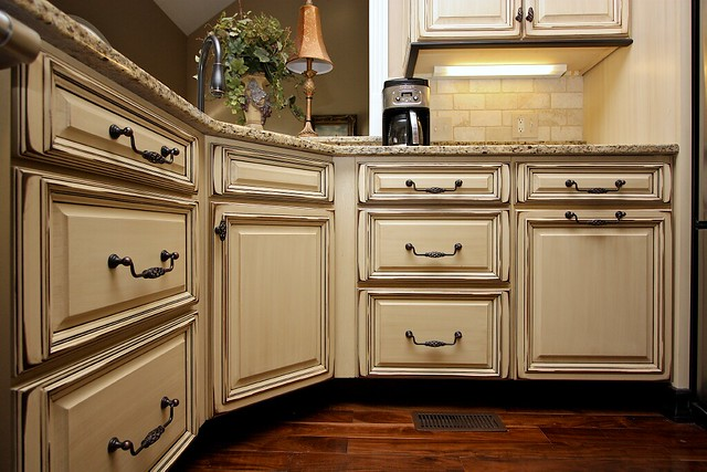 Kitchen cabinets glaze and distress 13 flickr photo sharing