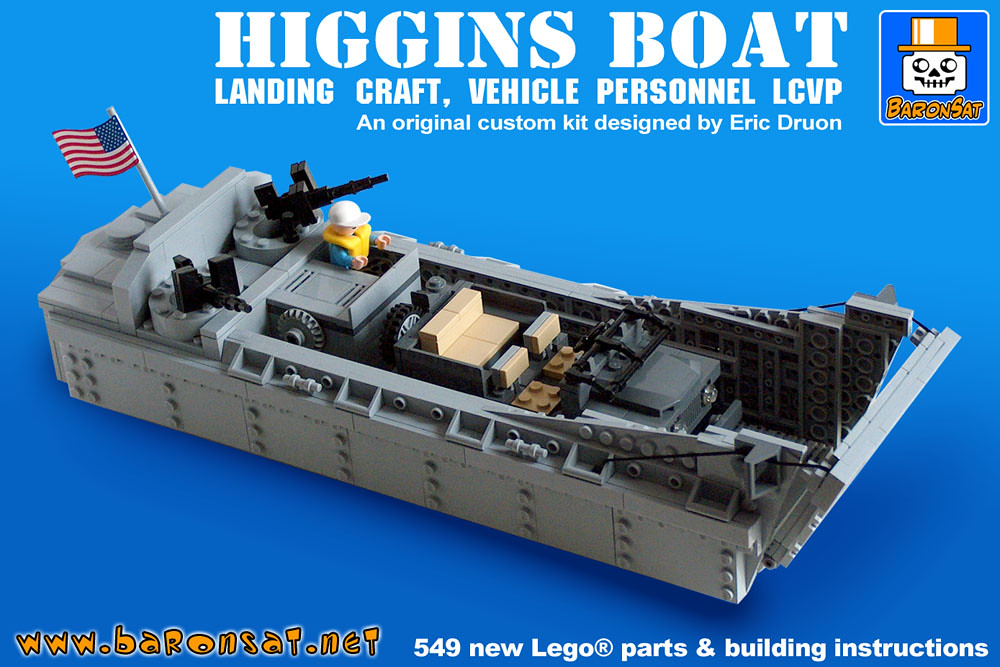 Higgins-Boat Model Kit   I finished to create instructions ...