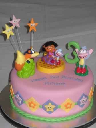 Dora Chocolate Cake
