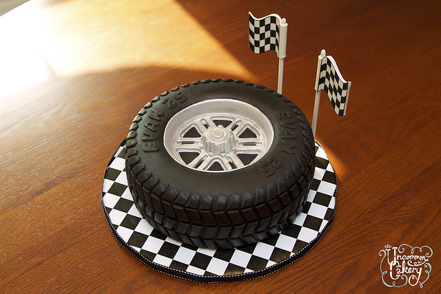 Quot Tire Cake Quot Birthday Cake Flickr Photo Sharing