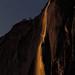 Horsetail Falls Under Moonlight