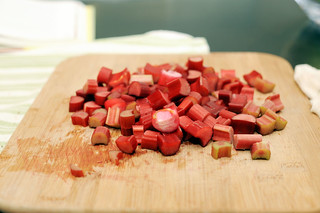 chopped rhubarb | by sassyradish