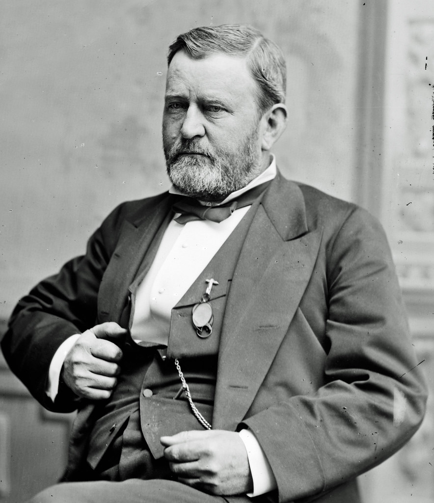 essays on ulysses s grant Grant was the eighteenth president of the united states of america hiram ulysses grant was born april 27, 1822 at point pleasant ohio in a small two-room house.