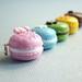 Bijoux Gourmands - Miniature Food Macarons - Pendant