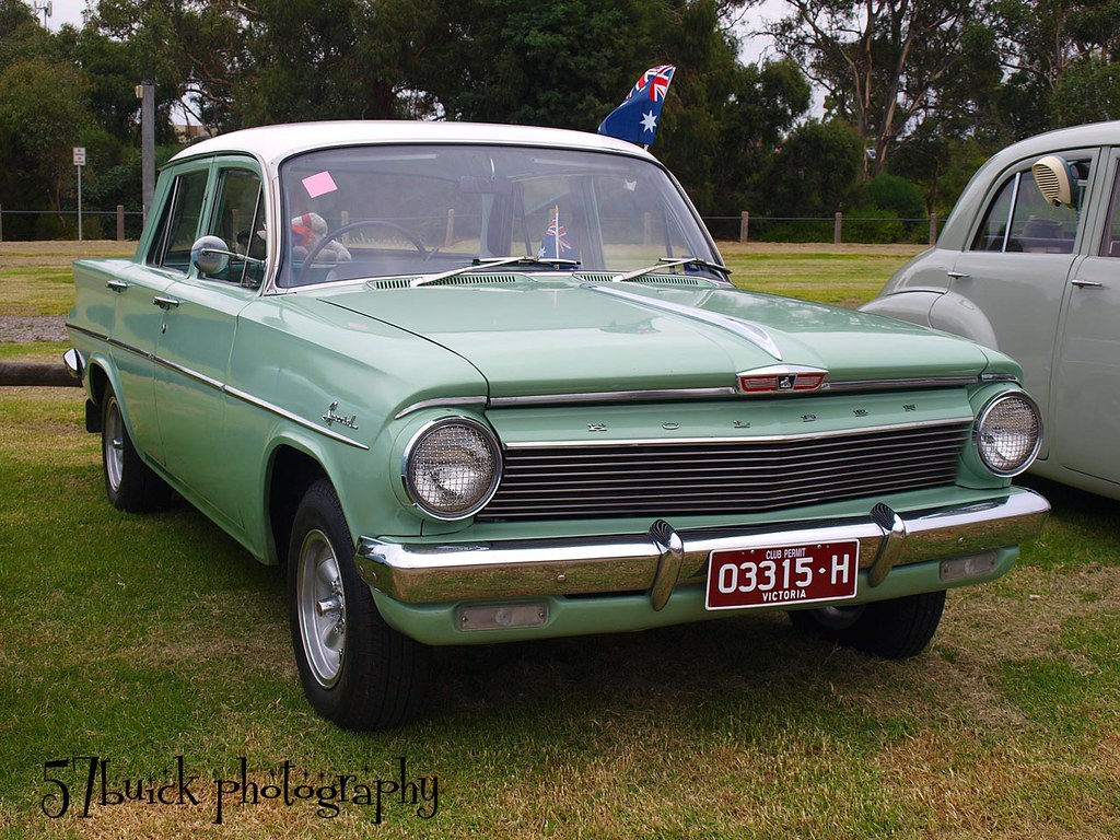 1962 Ej Holden Special Sedan At The All Holden Car Show