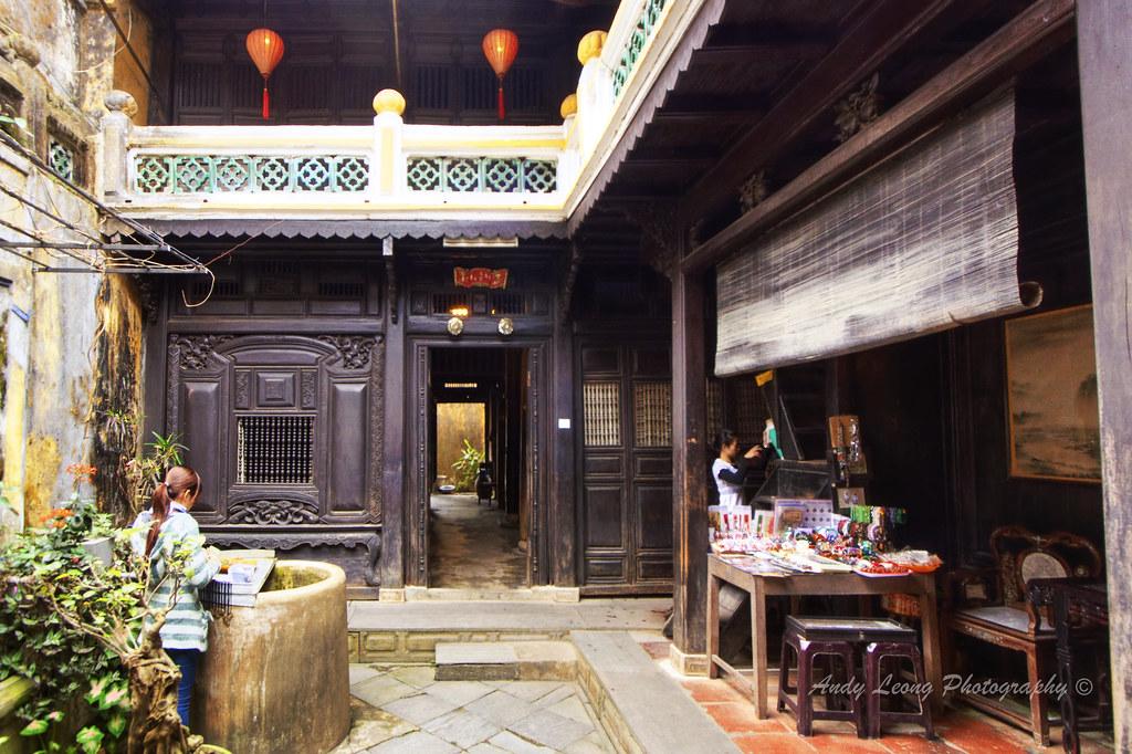 Tan Ky House Hoi An Vietnam Air Well Of Tan Ky House