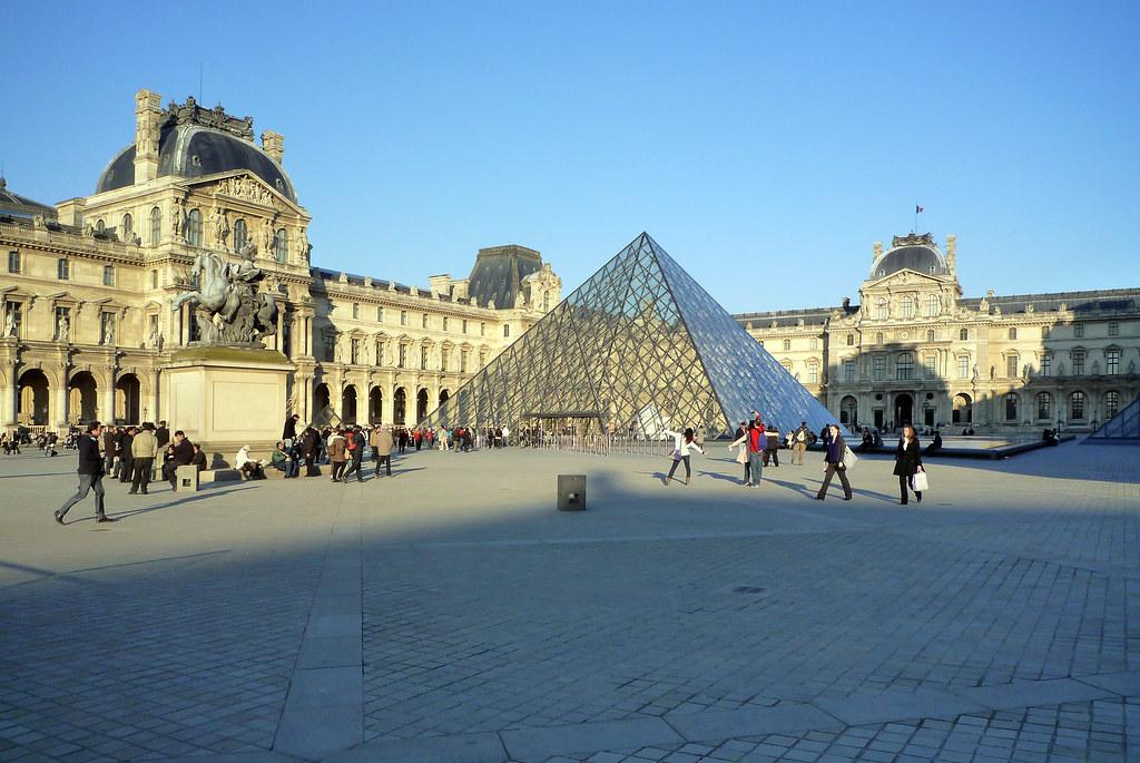 I m pei 39 s pyramide du louvre in the palais du louvre 39 s co flickr - Pyramide du louvre pei ...