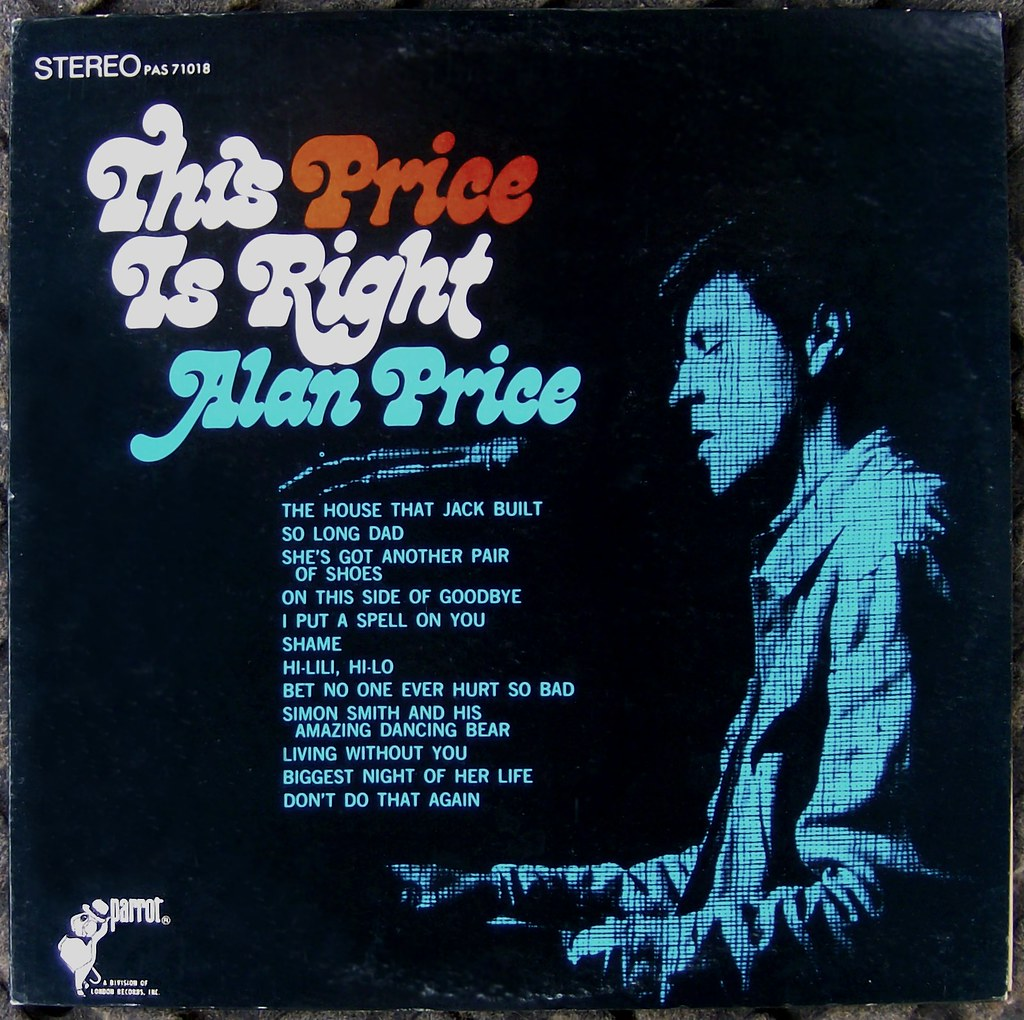 Alan Price This Price Is Right