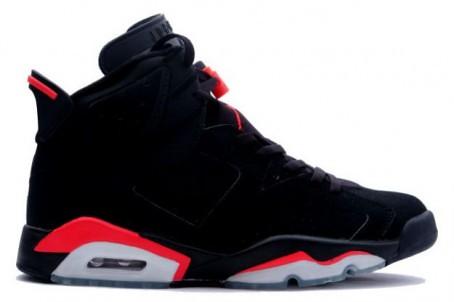 Nike Air Jordan 6 VI Retro - Black Deep Infrared | The ...