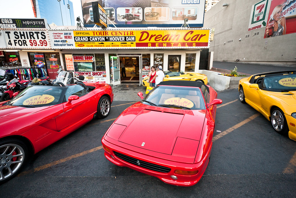 Exotic Car Rental Las Vegas Groupon
