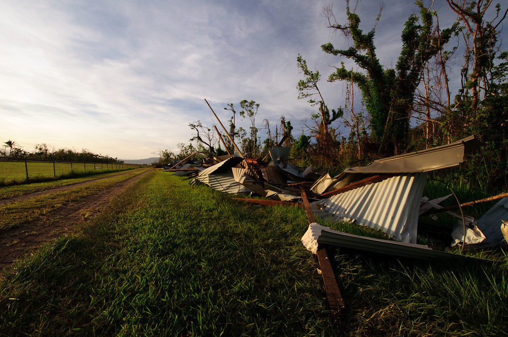 Dunk Island Destroyed By Cyclone Yasi: Cyclone Yasi's Destruction