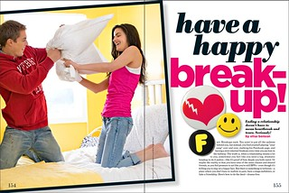 Seventeen April 2011 - Have a Happy Breakup pg.1 | by elisabenson