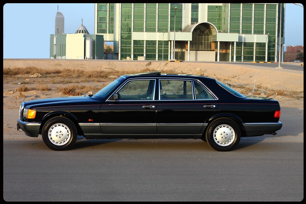 Mercedes benz w126 canon jassim albaloul flickr for Mercedes benz w126