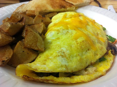 Cheeseburger in Paradise Omelet | by Bill.Roehl