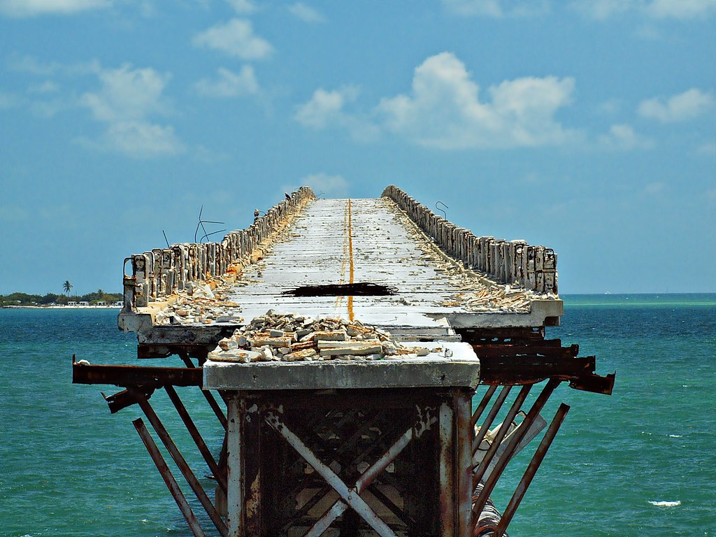 Bridge To Nowhere West Summerland Key Florida A View
