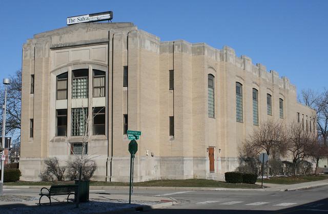 Salvation Army Building Pontiac Mi Flickr Photo Sharing