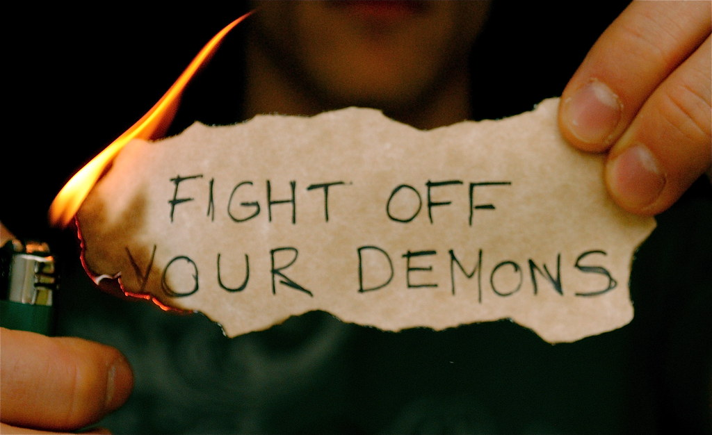 Image result for fight your demon