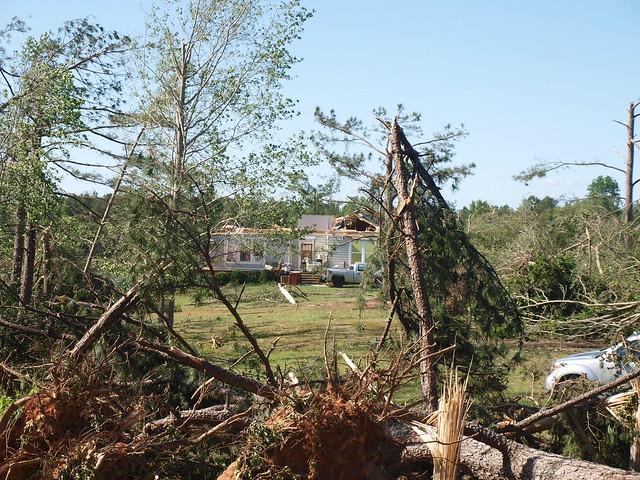 Barnesville Tornado Damage   Tornado damage in my area ...