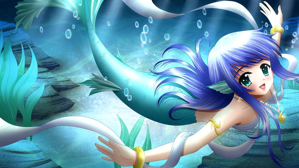 Underwater happy mermaid aly girl flickr - Image de sirene h2o ...
