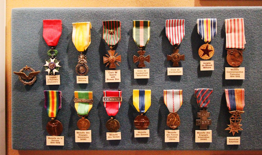 Medals Img 1516 Medals Of Eugene Jacques Bullard At The