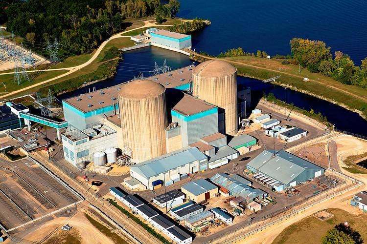 Prairie Island Nuclear Plant Map