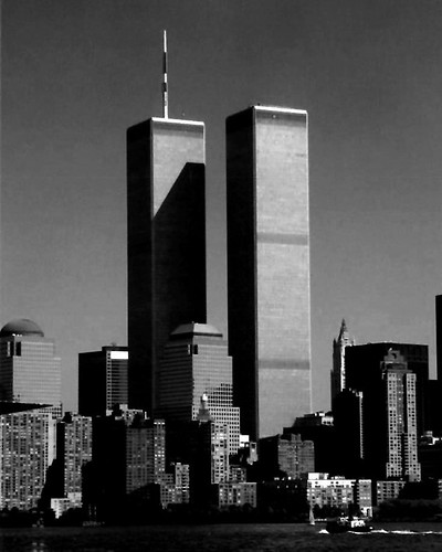 Twin Towers In Black Amp White Flickr Photo Sharing