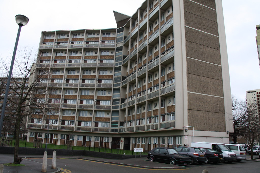 Clem Attlee Estate Fulham This Is Stafford Cripps House Flickr