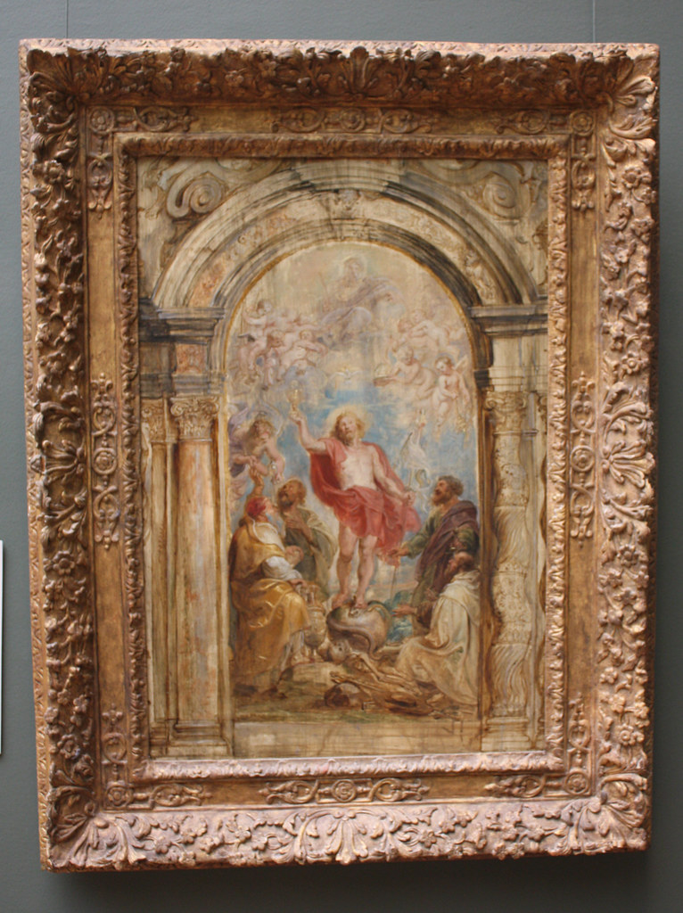 The Glorification Of The Eucharist By Peter Paul Rubens