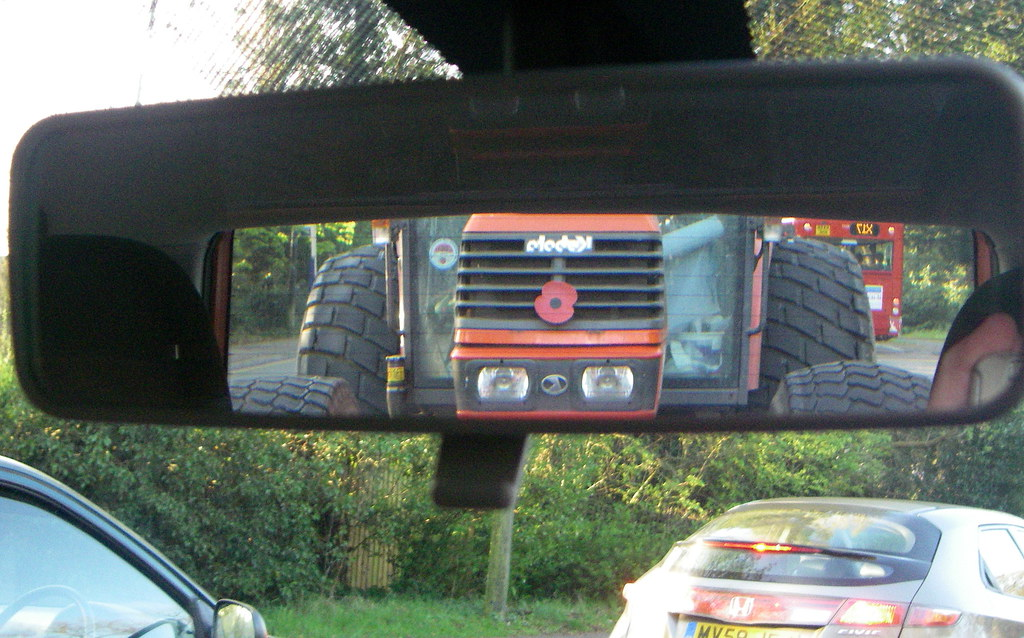 Tractor Rear View Mirrors : Rear view mirror coventry apr this was one large