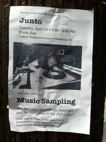Junto: Music Sampling | by P'unk Ave