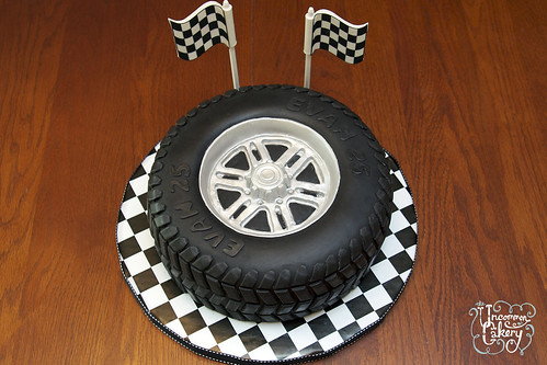 Car Wheel Cake Chinese Taiwan