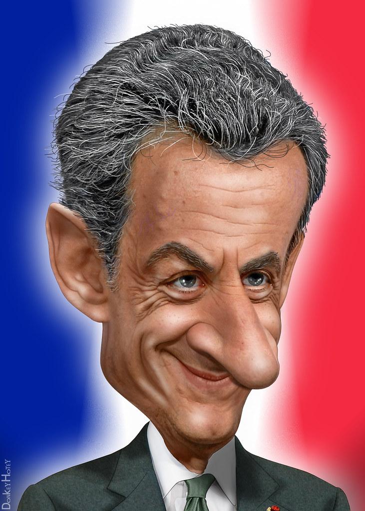 Nicolas Sarkozy - Caricature | Nicolas Paul Stéphane ...