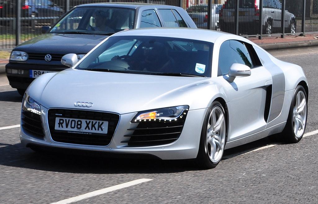 Audi R8 Silver Amp Grey Iamrender Flickr