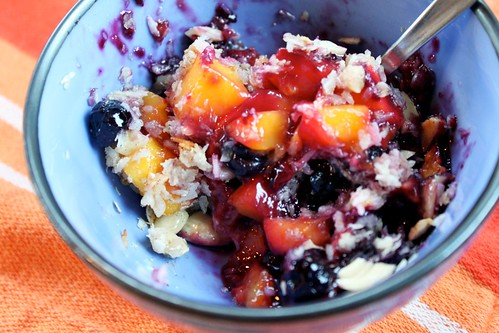 Sugar-Free Mango-Blueberry Crisp | by Kim | Affairs of Living