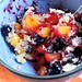 Sugar-Free Mango-Blueberry Crisp