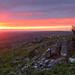 Cox Tor sunset