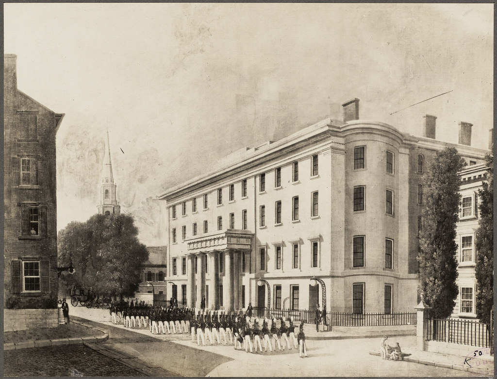 Hotels In Boston >> Tremont House, built 1829 | File name: 08_02_001483 Box labe… | Flickr